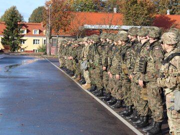 Żołnierze DWDP-W po treningu sztabowym Amber Bridge 19-3