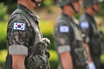 Żołnierze Korei Południowej, zdjęcie ilustracyjne