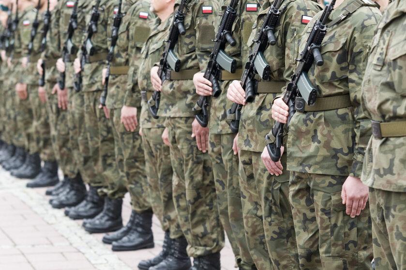 Żołnierze Wojska Polskiego, zdjęcie ilustracyjne