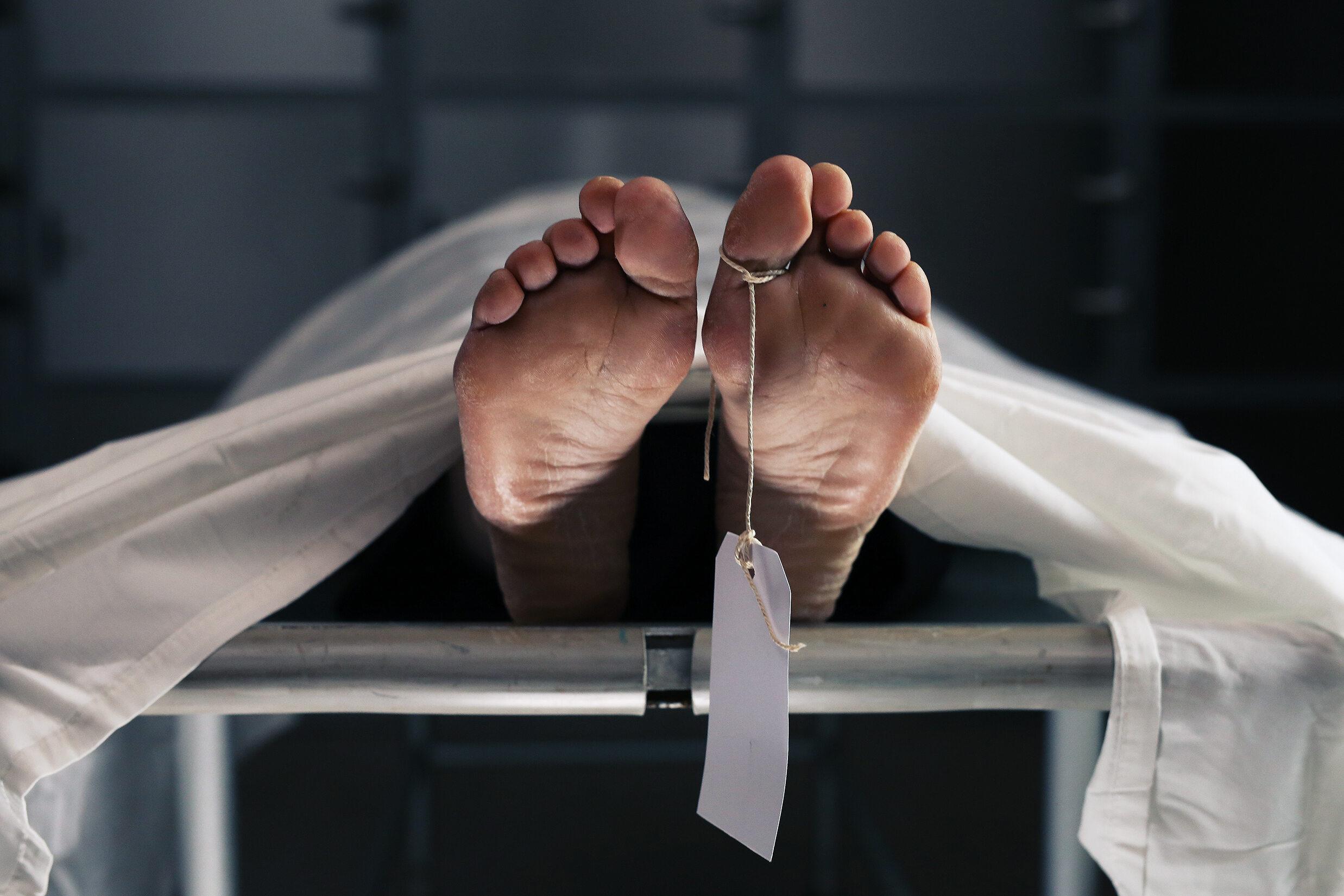 Zwłoki w kostnicy, zdjęcie ilustracyjne