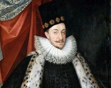 Zygmunt III Waza, portret pędzla Martina Kobera, ok. 1590 roku